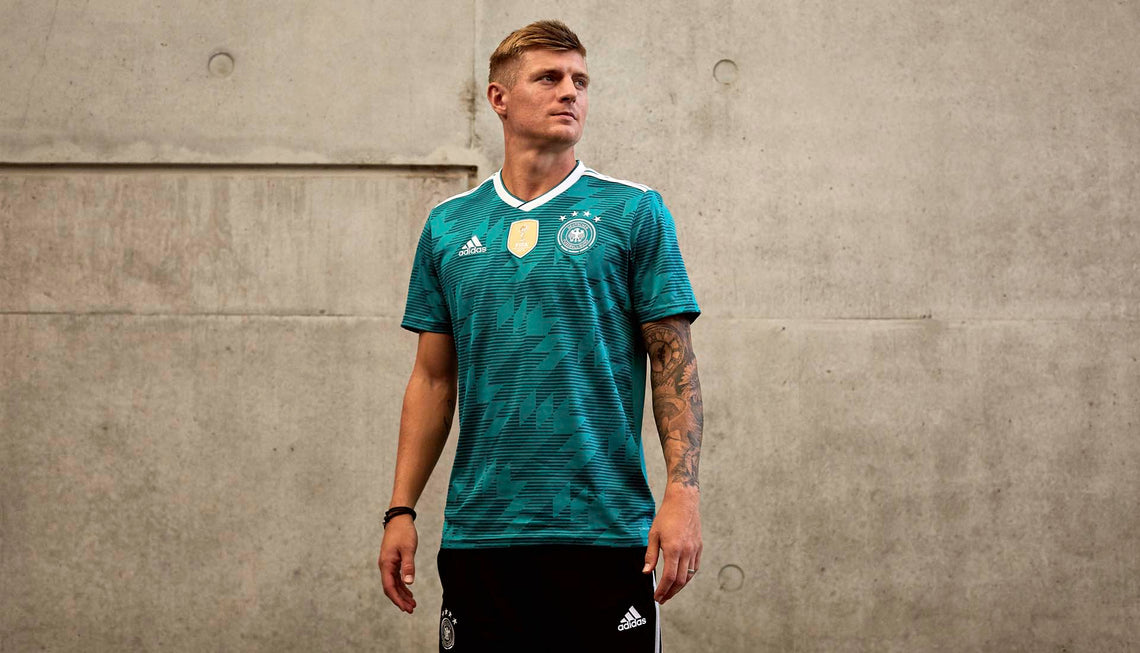 New Adidas Germany Away Jersey