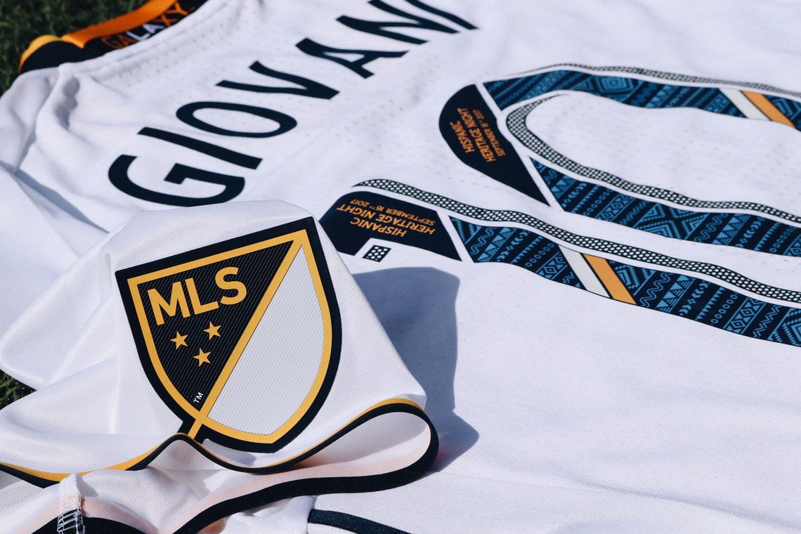 LA Galaxy 2017 Hispanic Jersey