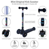 Kick Scooter for Kids - Black