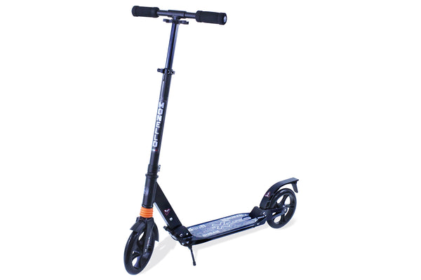 Teen Kick Scooter Big Wheels - Black