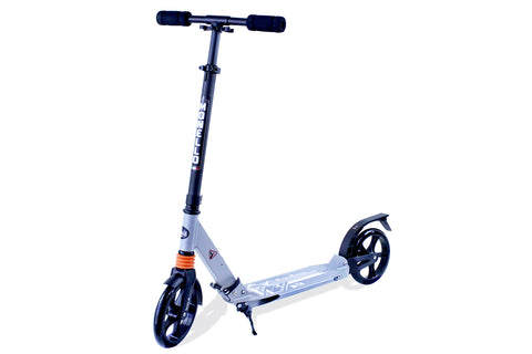 Teen Kick Scooter Big Wheels - Gray