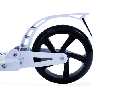 Teen Kick Scooter Big Wheels - White