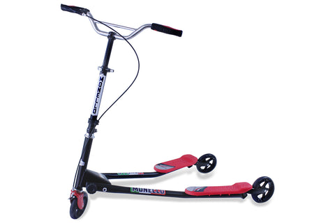 SkiScooter M7 - Black & Red