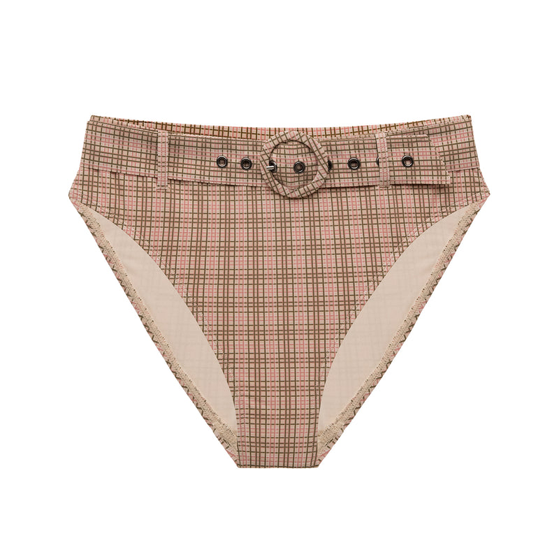 Bristol Mid Rise Belted Bottoms