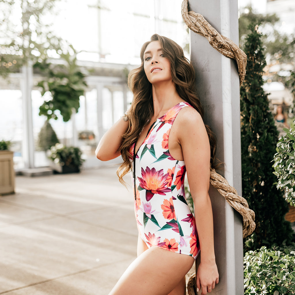 Racer Front One-Piece - Namaste