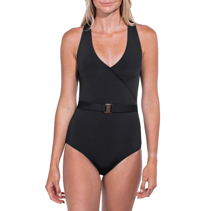 Kendall Luxe Belted One Piece