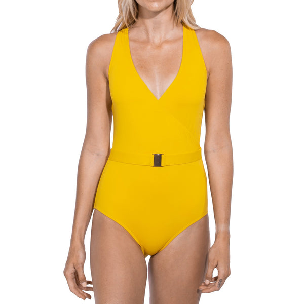 Tuscany Luxe Belted One Piece