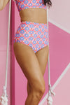 Ruffled Bombshell Bottom - Pastel Dreams