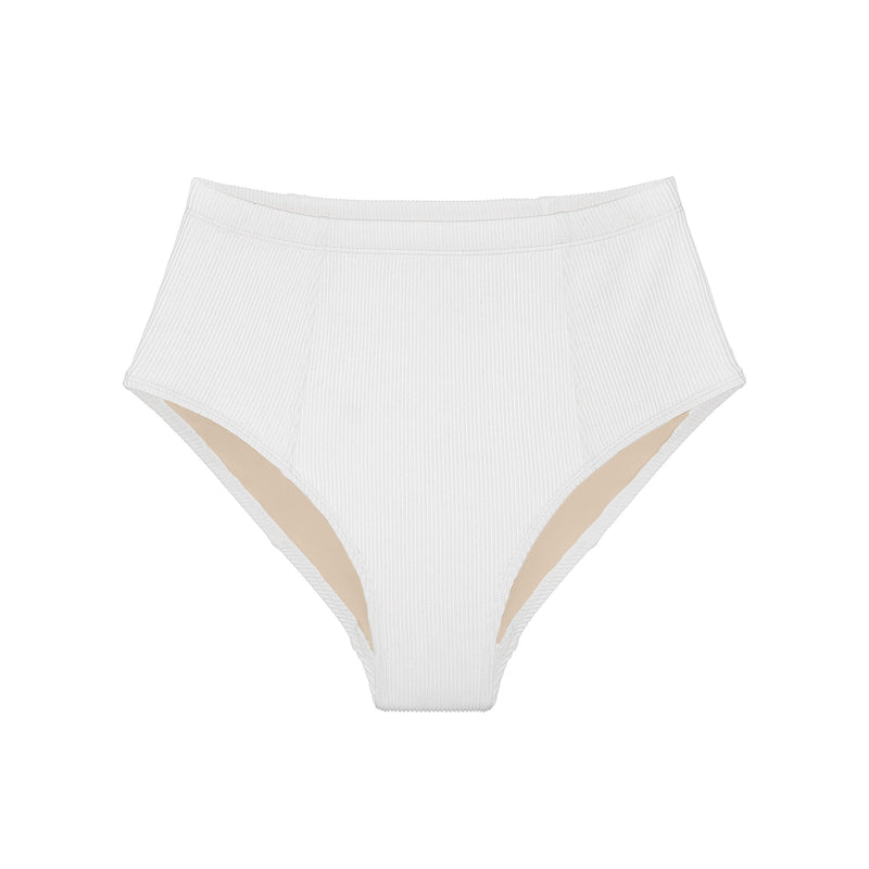 Pearl Ribbed High Waisted Bottom