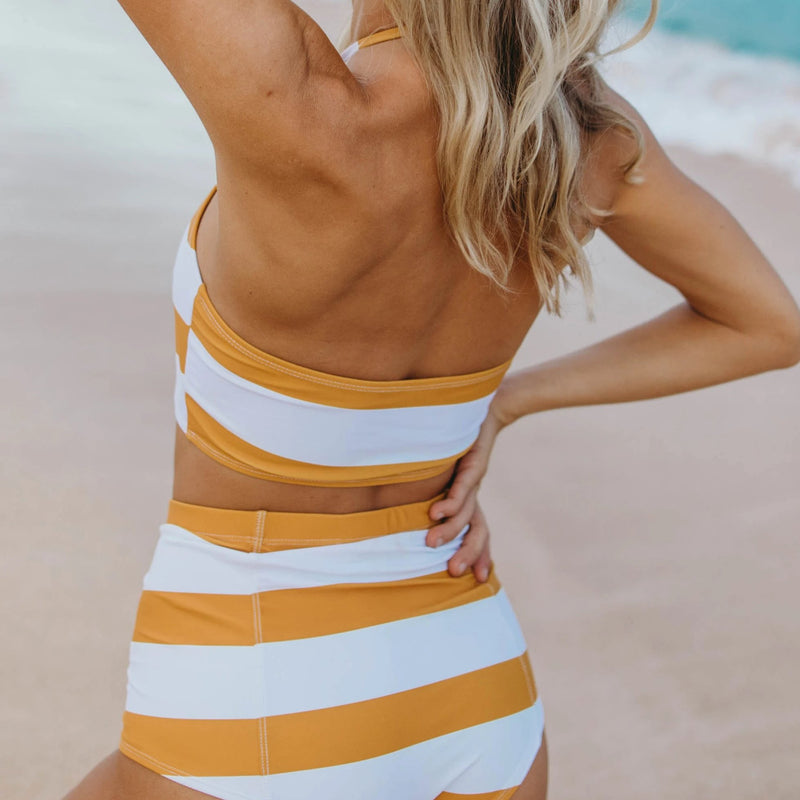 Butterscotch Halter Top