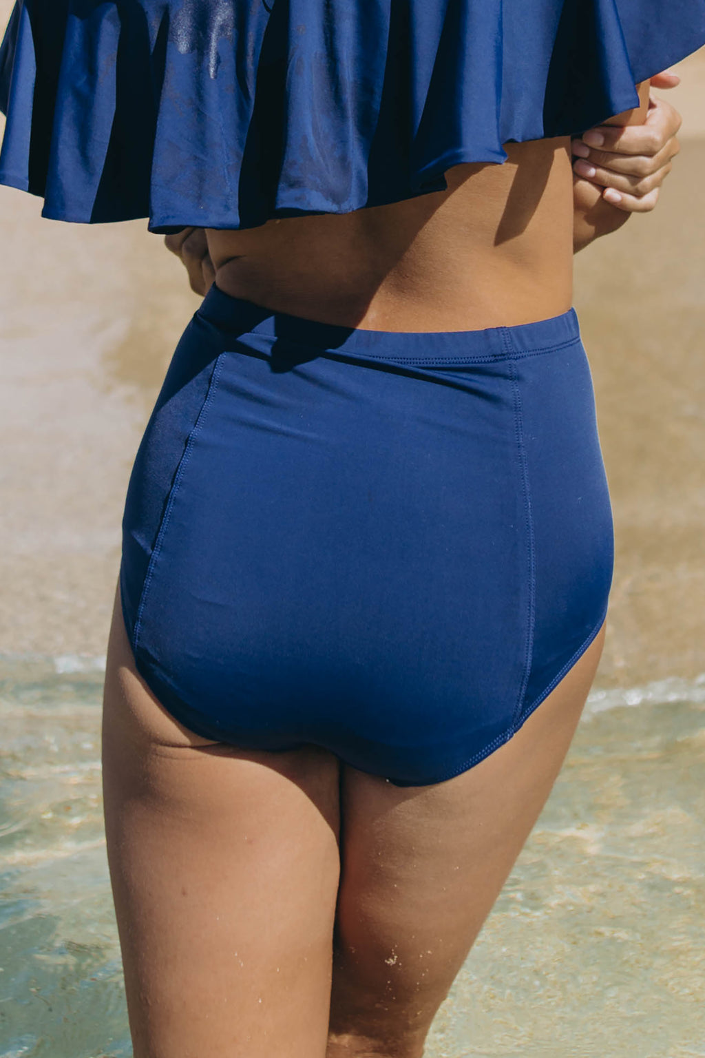 Navy Bombshell Bottoms