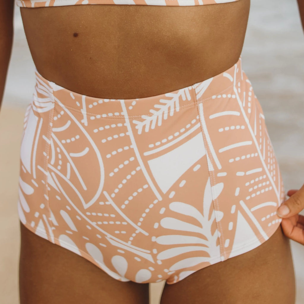 Tropical Peach Bombshell Bottom