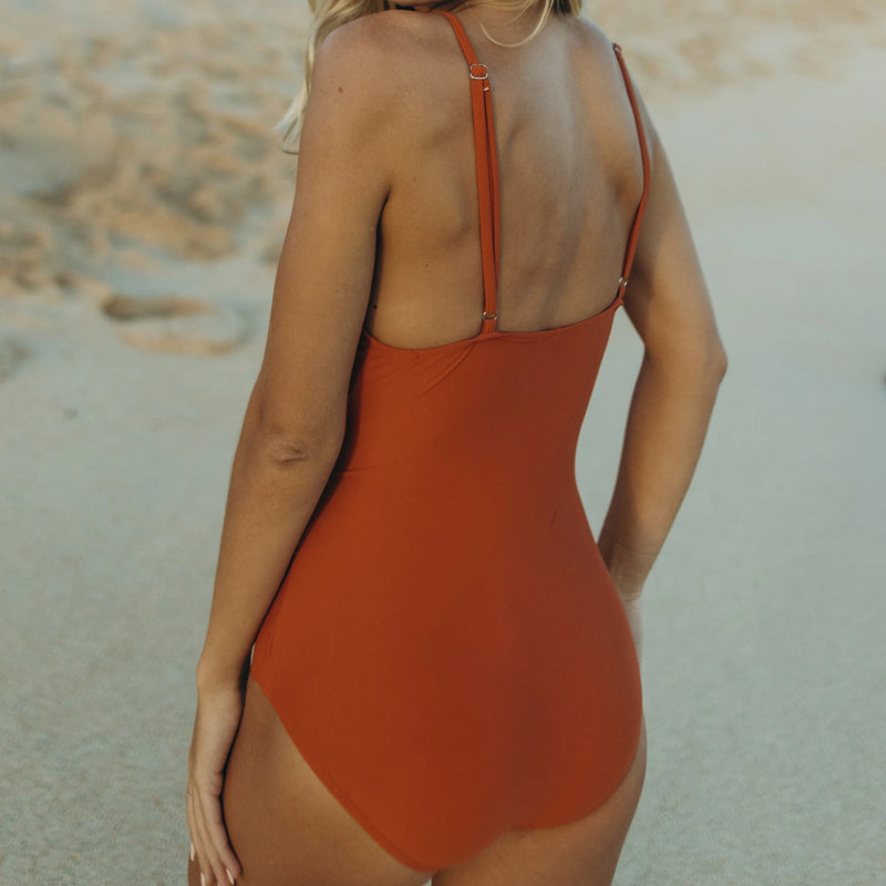 Ember Tie Front One Piece