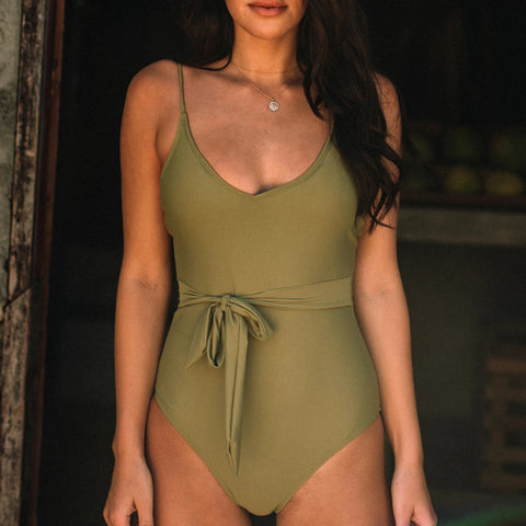 Oz Shoulder Tie One Piece