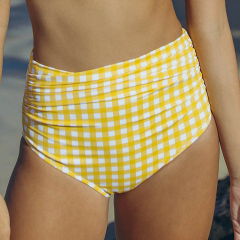 Bombshell Bottom - Vintage Lemon