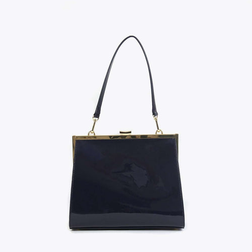 8.28 Boutique:Neely and Chloe,Neely and Chloe Frame Bag in Navy,Purse
