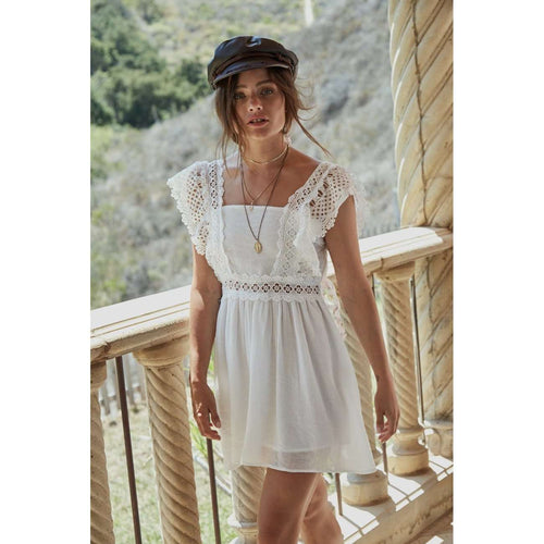 8.28 Boutique:Sage the Label,Sage the Label Just Like Honey White Tunic,Dress