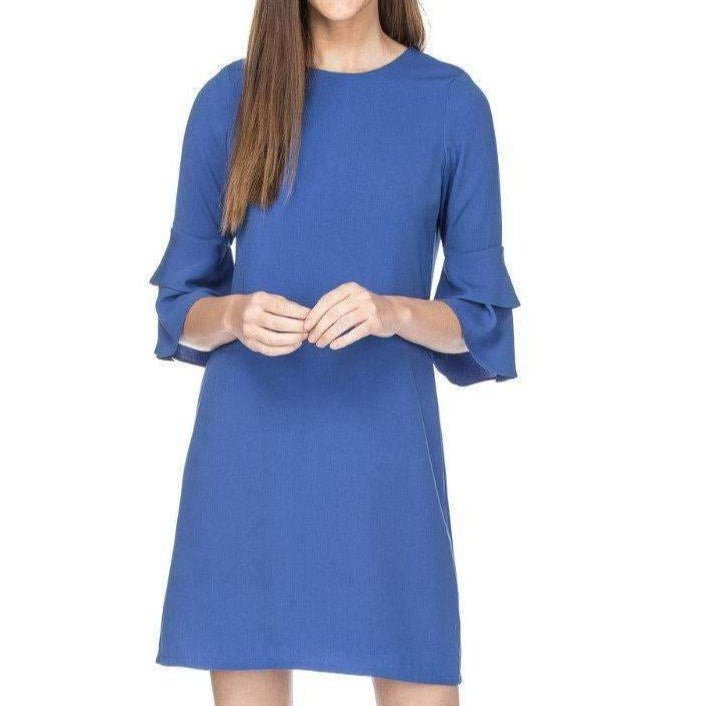 8.28 Boutique:Jade Melody Tam,Jade Melody Tam Royal Bell Sleeve Dress,Dress
