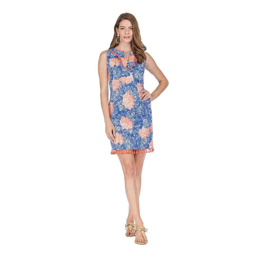 8.28 Boutique:Jade Melody Tam,JADE By Melody Tam Floral Tassel Dress,Dress