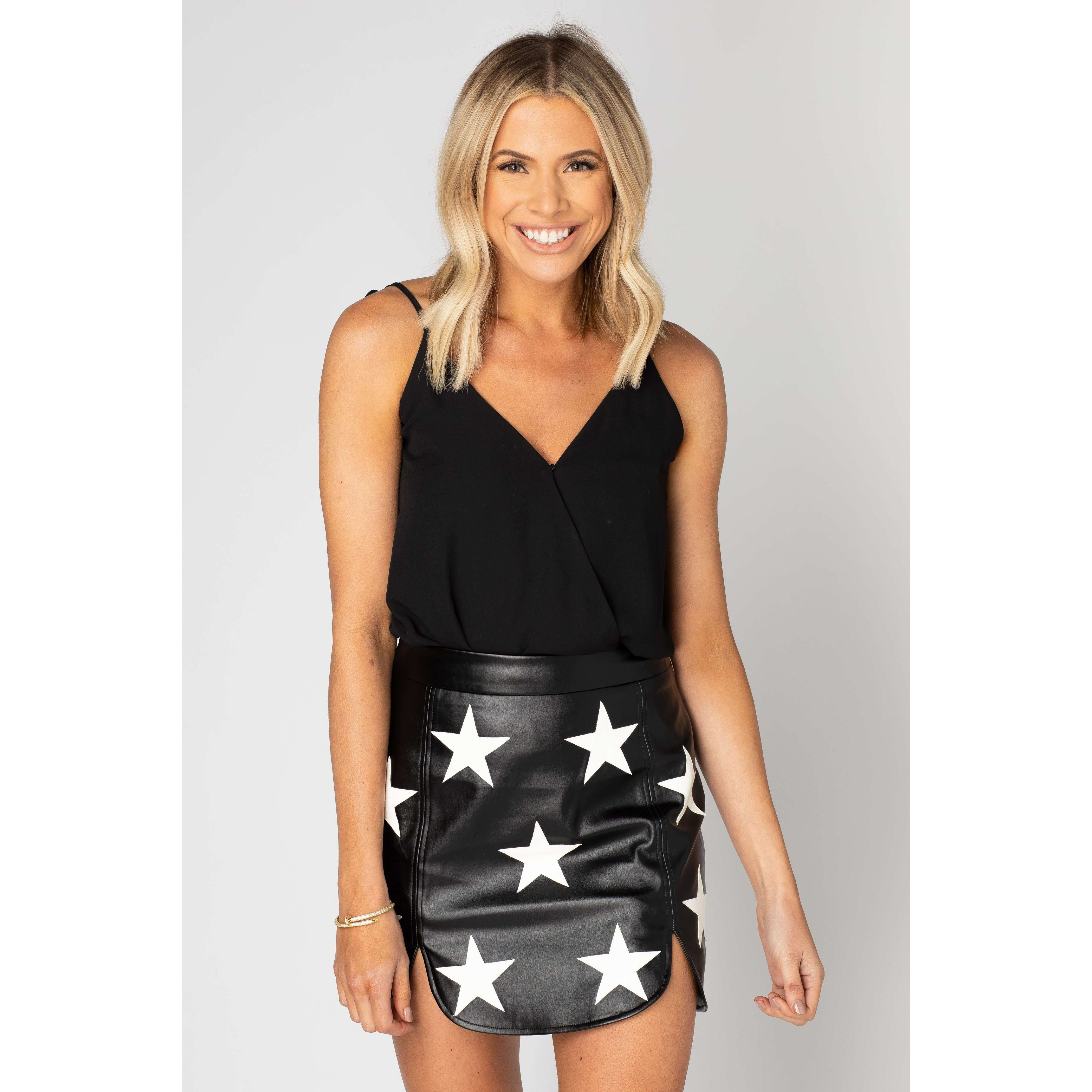 8.28 Boutique:Buddy Love,Buddy Love Ali Star Skirt,Bottoms