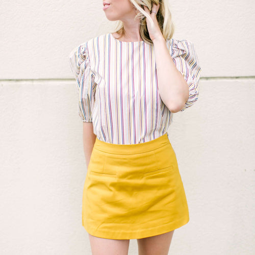 After MarketBottomsAfter Market Mustard Skort