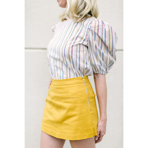 8.28 Boutique:After Market,After Market Mustard Skort,Bottoms