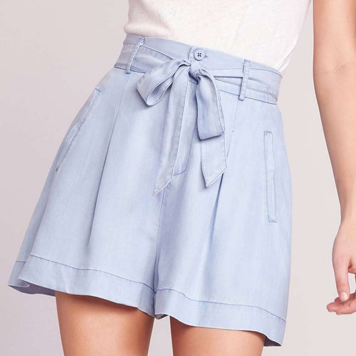 8.28 Boutique:BB Dakota,BB Dakota Nice N Easy Chambray Shorts,Bottoms