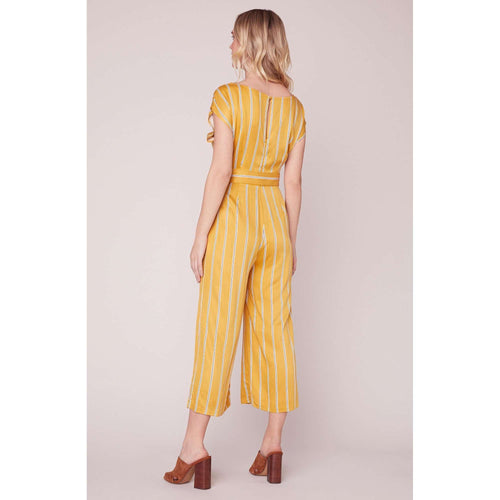 8.28 Boutique:BB Dakota,BB Dakota All the Right Moves V-Neck Jumpsuit,Jumpsuit