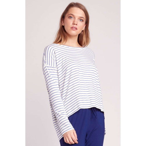 8.28 Boutique:BB Dakota,BB Dakota Fast and Loose Striped Top,Tops