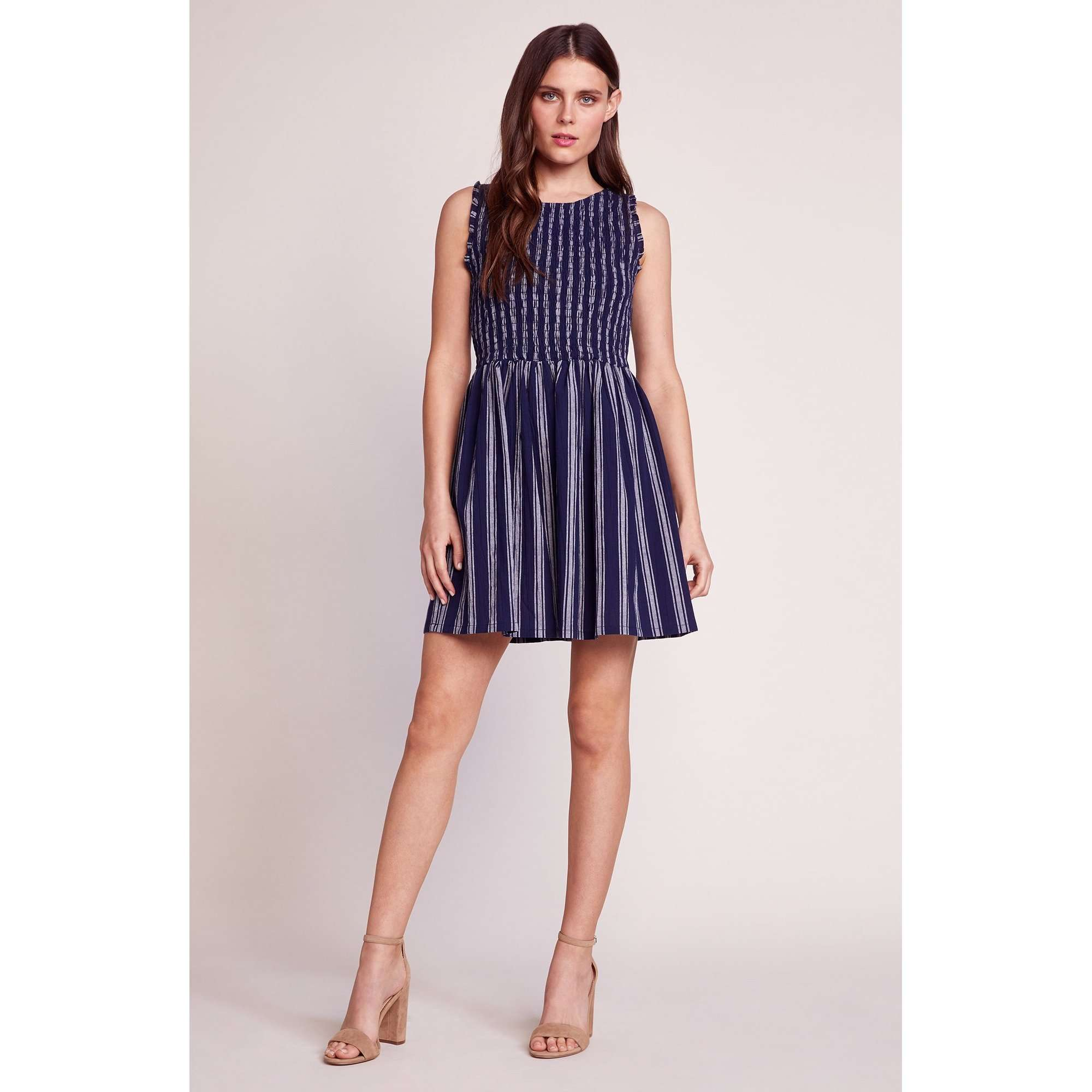 8.28 Boutique:BB Dakota,BB Dakota You Can Jive Navy Dress,Dress