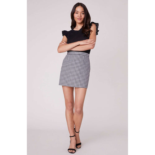 BB DakotaBottomsBB Dakota Check Yo Self Gingham Skirt