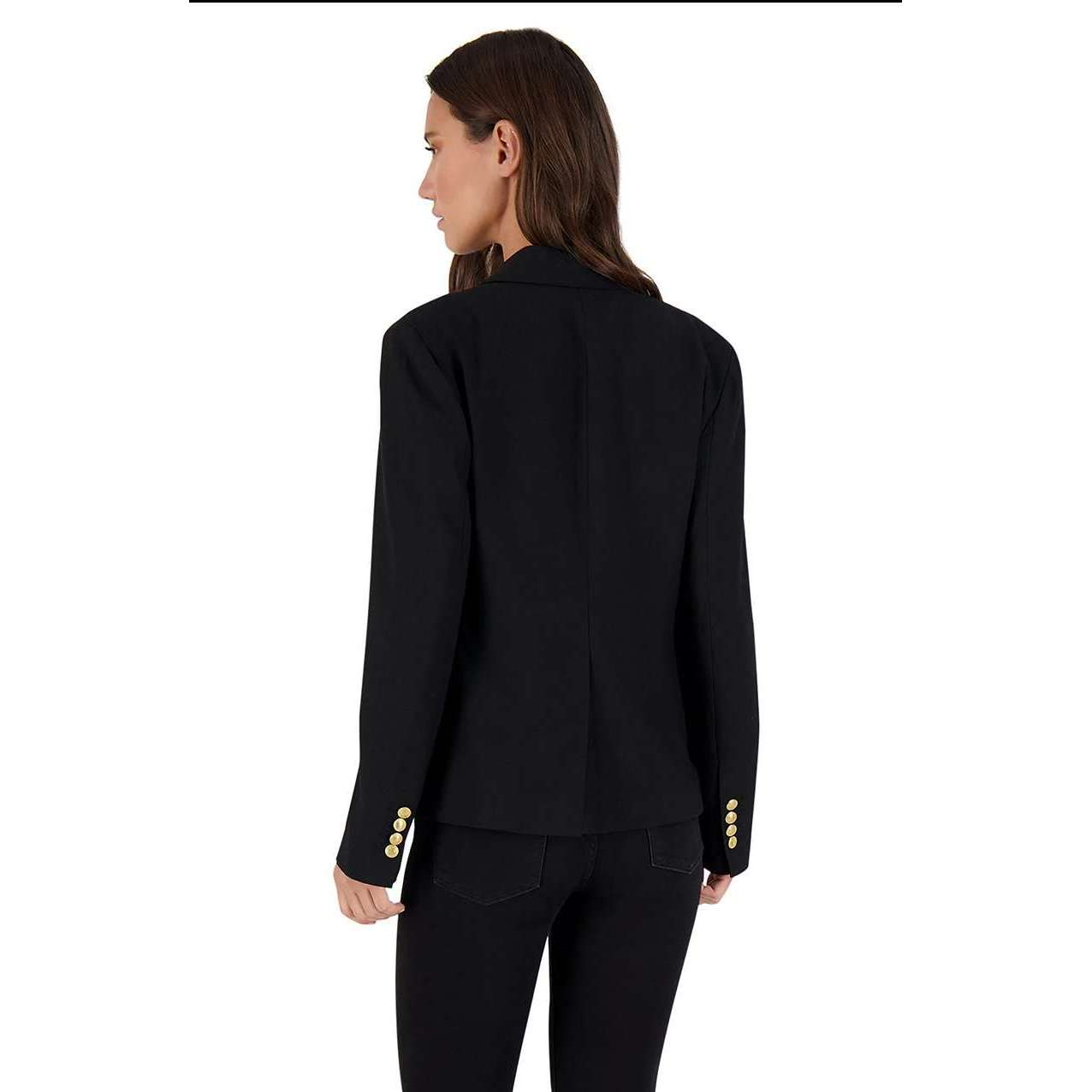 8.28 Boutique:BB Dakota,BB Dakota Inside Scoop Black Blazer,Jacket