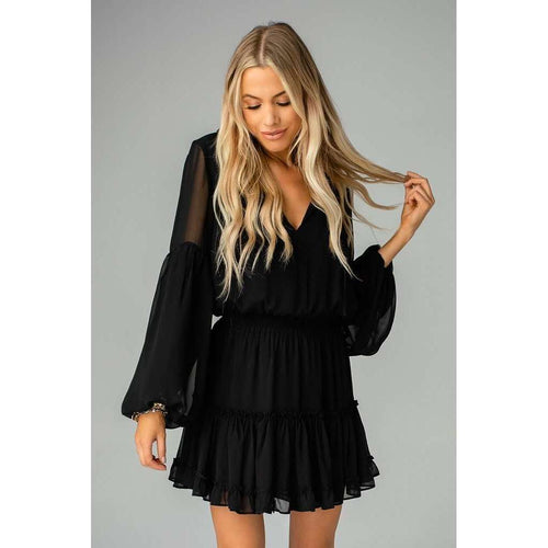 8.28 Boutique:Buddy Love,Buddy Love ZoZo in Black,Dress