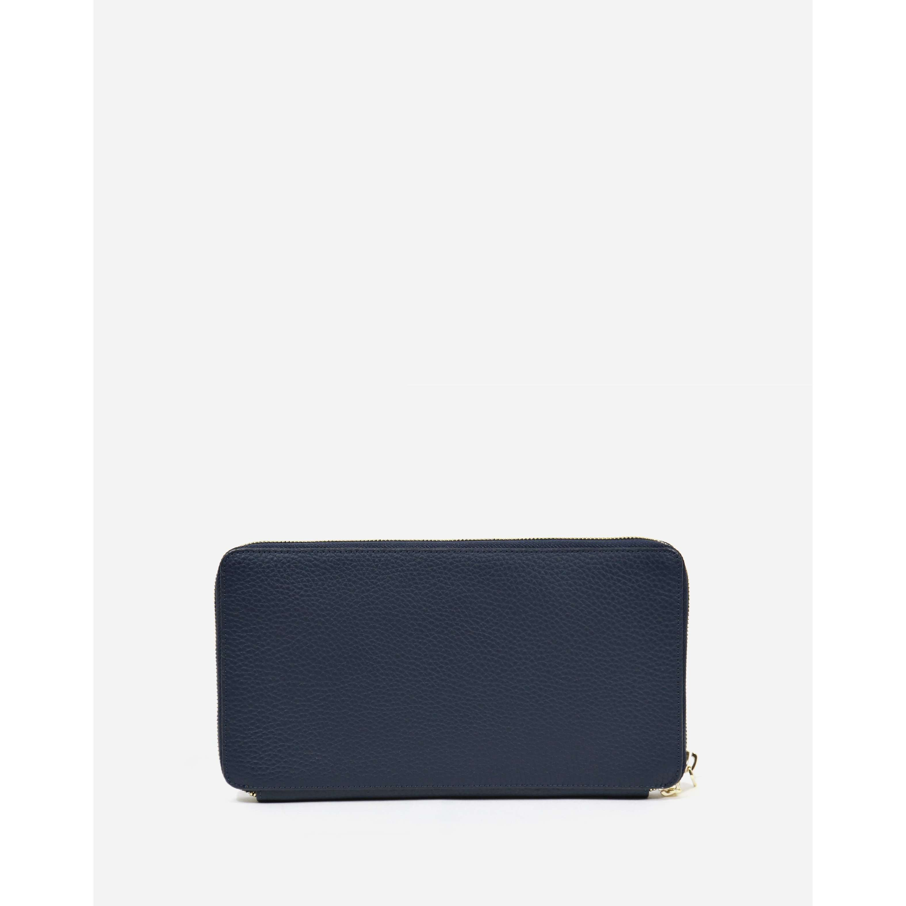 8.28 Boutique:Neely and Chloe,Neely and Chloe Travel Wallet in Navy,
