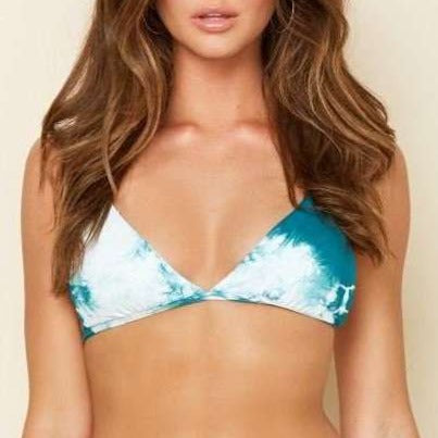 8.28 Boutique:Dippin' Daisy's,Dippin' Daisy's Aqua Playa Top,bathing suit