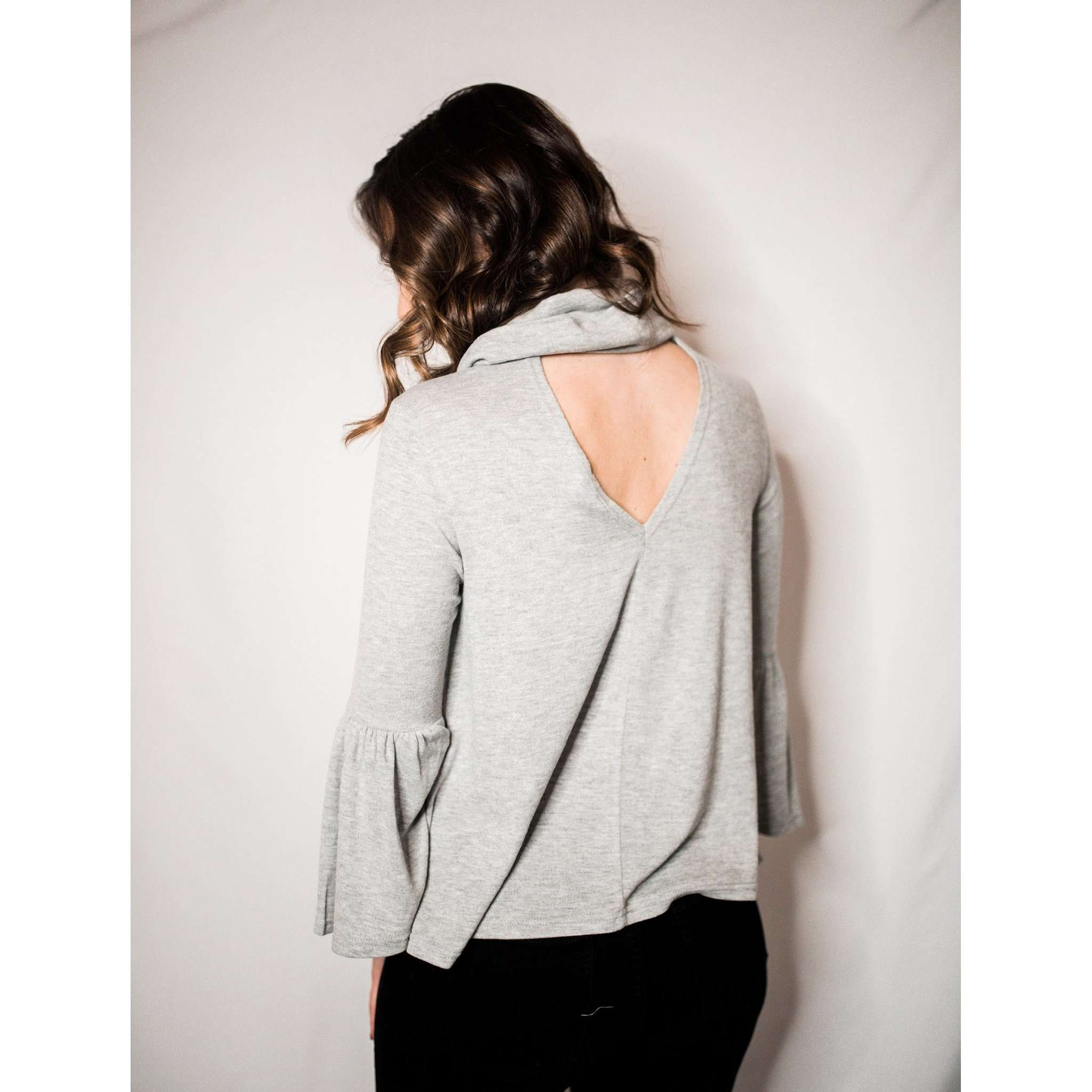 8.28 Boutique:Jack by BB Dakota,Jack by BB Dakota Greatest Knits Grey Sweater,Tops