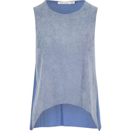 8.28 Boutique:Bishop + Young,Bishop + Young Paulina Twilight Blue Tank,Tops