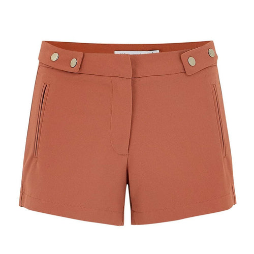 8.28 Boutique:Bishop + Young,Bishop + Young Burnt Orange Shorts,Bottoms