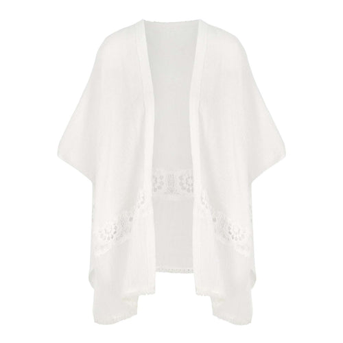 8.28 Boutique:Bishop + Young,Bishop + Young Calypso Cardigan in White,Tops