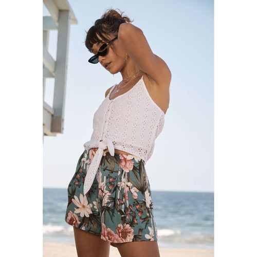 8.28 Boutique:Sage the Label,Sage the Label Escape to Miami Shorts,Bottoms