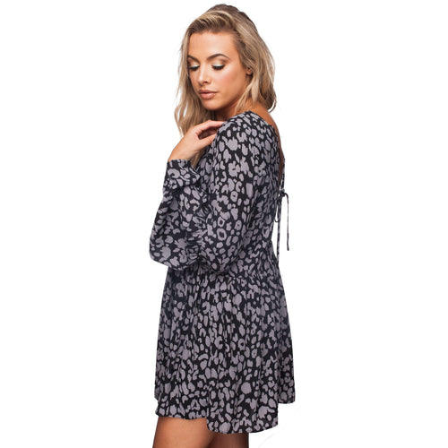8.28 Boutique:Buddy Love,Buddy Love Hall Panther Dress,Dress