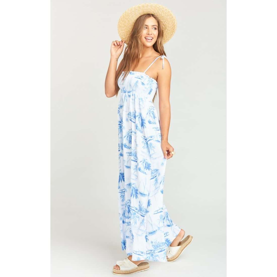 8.28 Boutique:Show Me Your Mumu,Show Me Your Mumu Sail Away White Maxi Dress,Dress