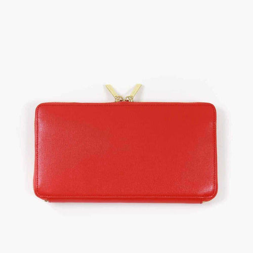 8.28 Boutique:Neely and Chloe,Neely and Chloe Travel Wallet in Red,