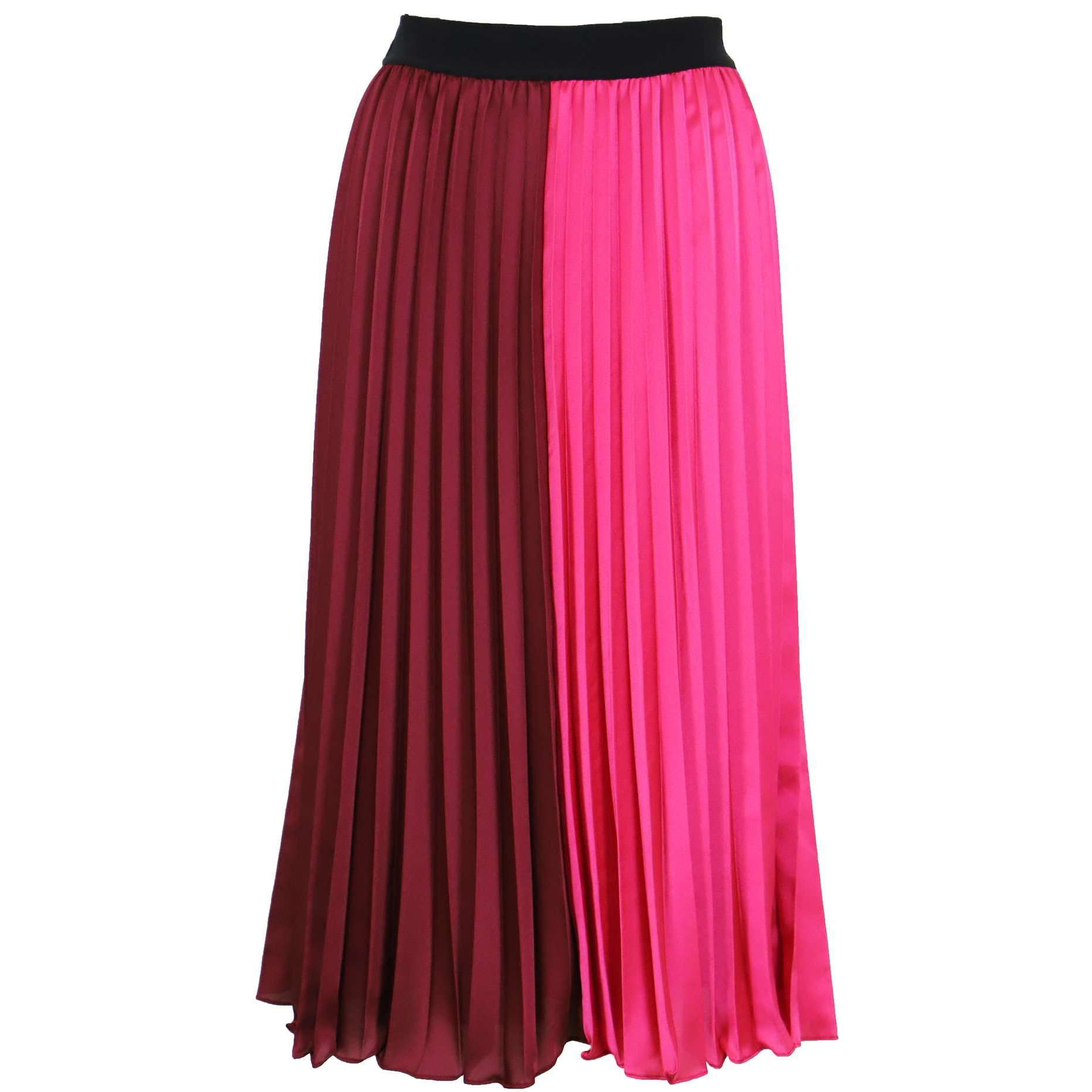 8.28 Boutique:LUCY PARIS,Lucy Paris Frances Color Block Skirt,Bottoms