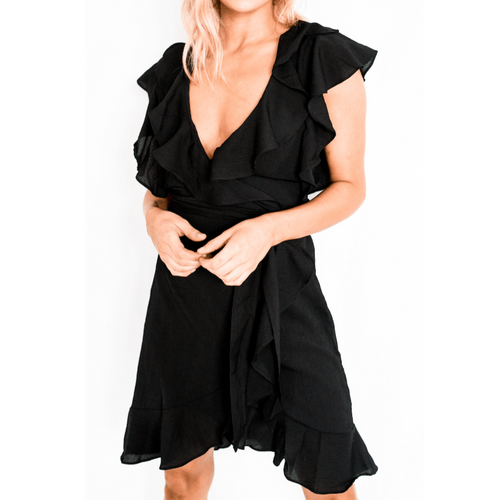 8.28 Boutique:LUCY PARIS,Lucy Paris Ruffle Dress,Dress