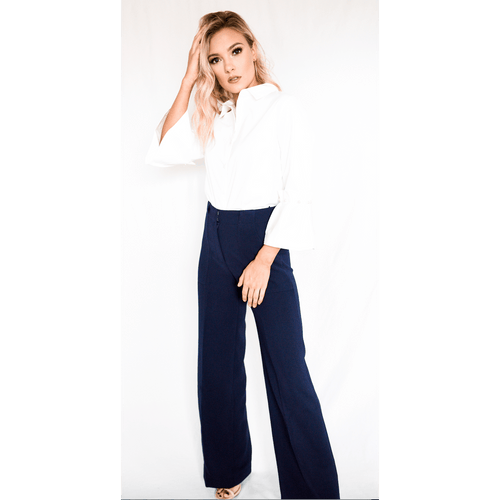 8.28 Boutique:LUCY PARIS,Lucy Paris Wide Leg Pant,Bottoms