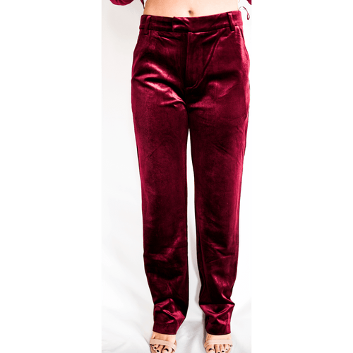 8.28 Boutique:LUCY PARIS,Lucy Paris Velvet Pants,Bottoms