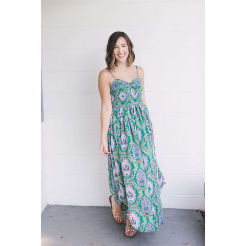 Take Me Away Orangeade Maxi Dress