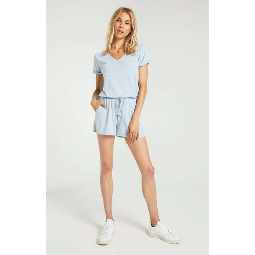 8.28 Boutique:Z-Supply,Z-Supply Pia Triblend Romper,Romper