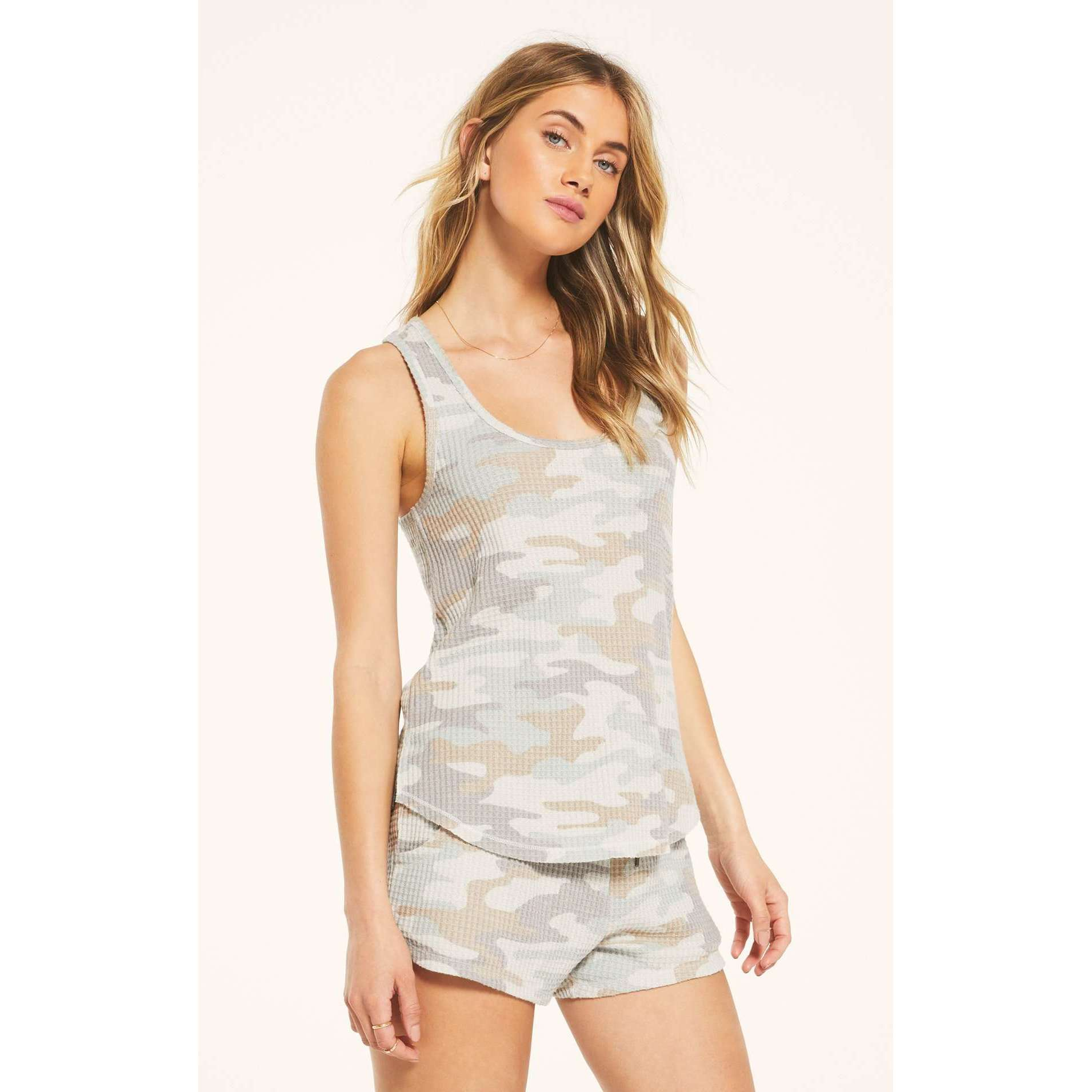 8.28 Boutique:Z-Supply,Z-Supply Tia Camo Tank,tops